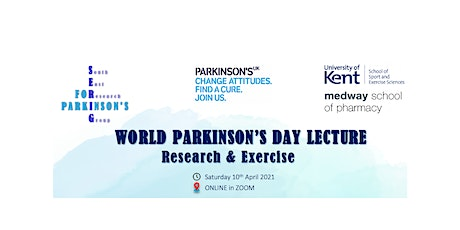 WORLD PARKINSON'S DAY LECTURE - Research and Exercise tickets