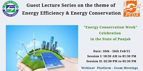 Guest Lecture Series On Energy Conservation & Energy Efficiency - OPEN LINK tickets