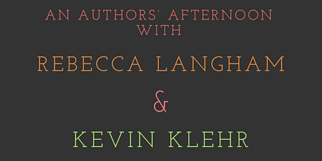 An afternoon with Rebecca Langham & Kevin Klehr tickets