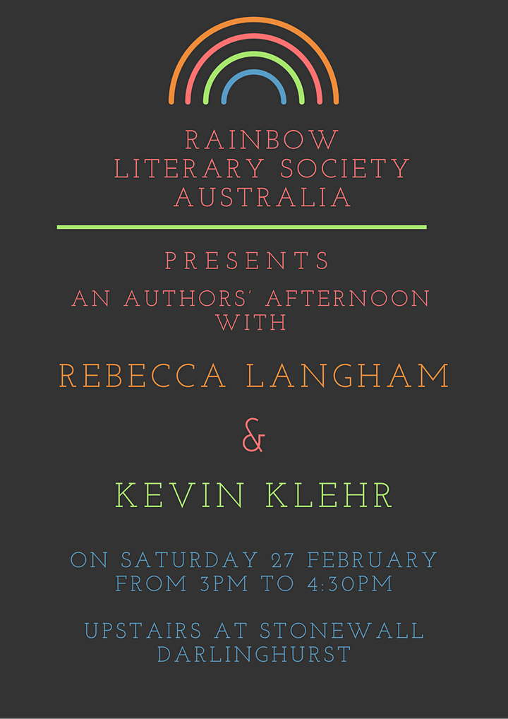 An afternoon with Rebecca Langham & Kevin Klehr image