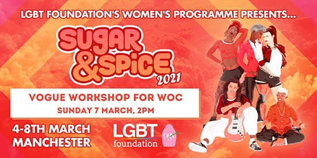 Vogue Workshop for WoC : Sugar & Spice 2021 tickets