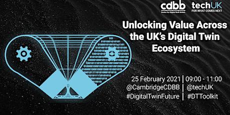 Unlocking Value Across the UK's Digital Twin Ecosystem tickets