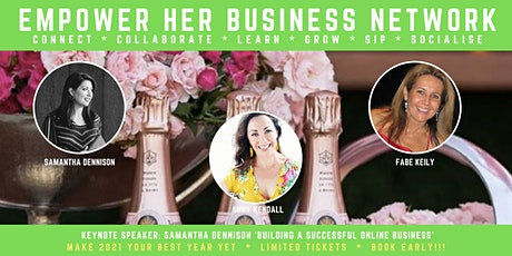 EMPOWER HER BUSINESS - BUILDING A SUCCESSFUL ONLINE BUSINESS tickets