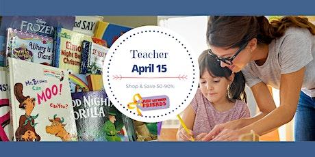 Spring 2021 Teacher Presale Pass tickets