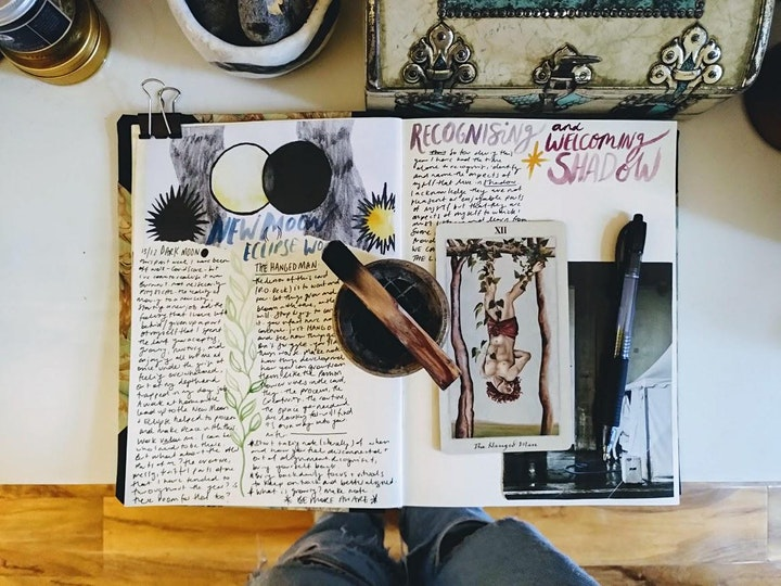 Oracles & Magical Journalling with Dianne Tanner image
