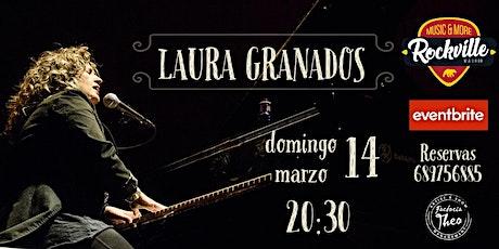 Laura Granados en concierto - Sala Rockville - 14 de marzo 2021 entradas