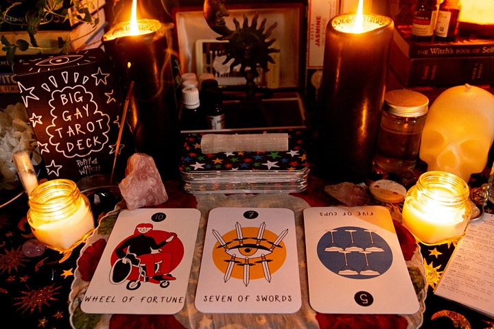Make Your Own Tarot Deck with Poppy Marriott image