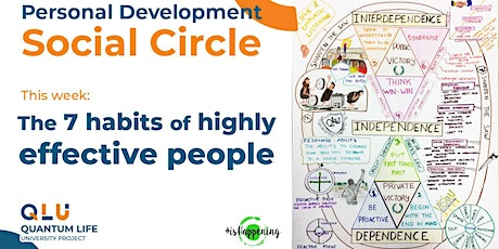Personal Development ☯ Social Circle — 7 habits of highly effective people tickets