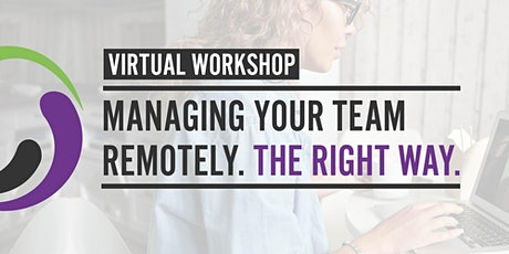 Managing your team remotely tickets
