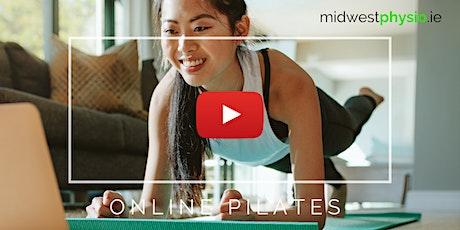 Online Pilates - Mixed Level Abililty biglietti