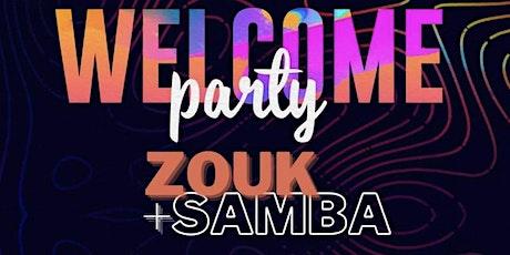 Absolute Zouk & Samba Night tickets