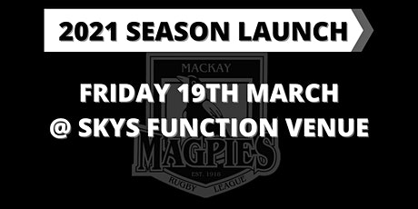 Magpies Senior Rugby League Season Launch tickets