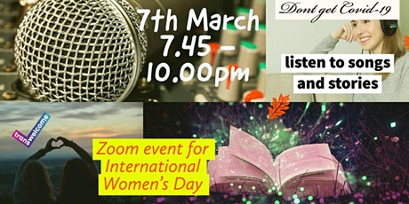 International Womens Day Zoom Show tickets