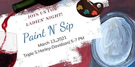 Ladies' Night Paint & Sip tickets