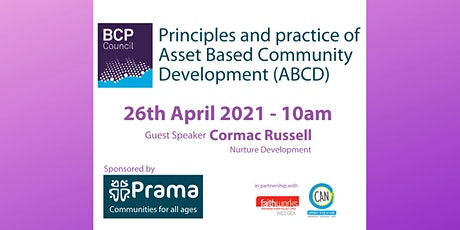 Principles and practice of Asset Based Community Development (ABCD) tickets