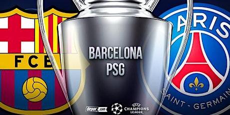 TV/VIVO.-Barcelona Paris-SG E.n Viv y E.n Directo ver Partido online entradas