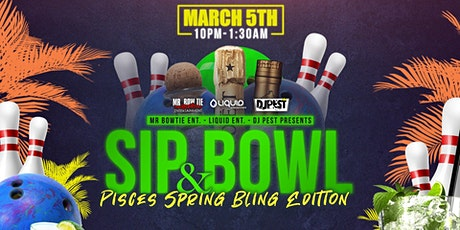 Sip And Bowl AZ - Pisces Spring Bling Edition tickets