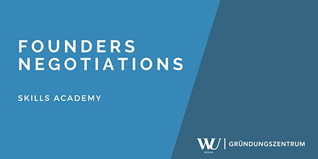 Skills Academy Webinar: Founders Negotiations Tickets