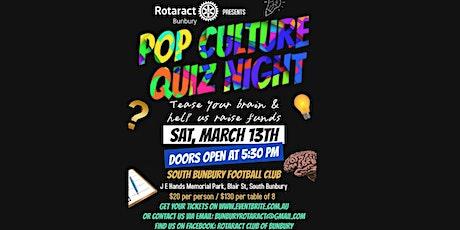 Pop Culture Quiz Night tickets