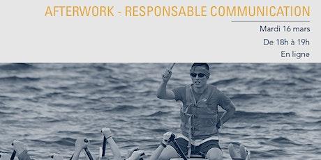 Afterwork Audencia - Formation Responsable Communication billets
