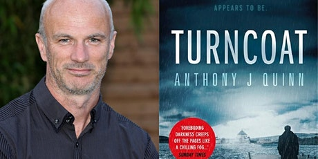 An afternoon with Anthony J. Quinn, crime writer tickets