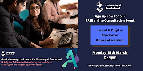 L6 Digital Marketer Degree Apprenticeship - Employer Consultation Event tickets