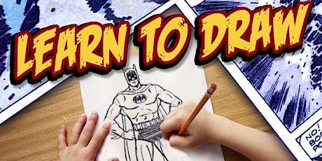 Learn To Draw Batman! tickets