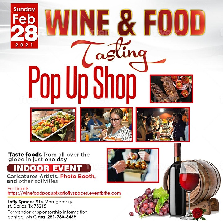 Wine & Food Tasting LOFTY SPACES image