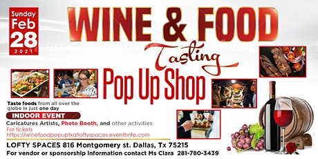 Wine & Food Tasting LOFTY SPACES tickets