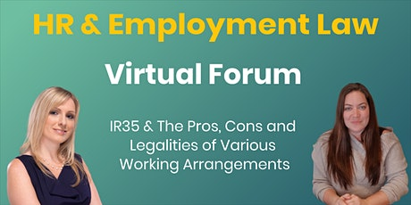 HR & Employment Law Virtual Forum tickets