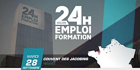 24 heures pour l'emploi et la formation - Rennes 2021 billets