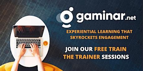 Gamify your Webinars - Intro Experience to Gaminar.net biglietti