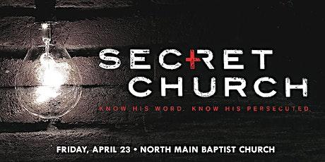 NMBC Secret Church tickets