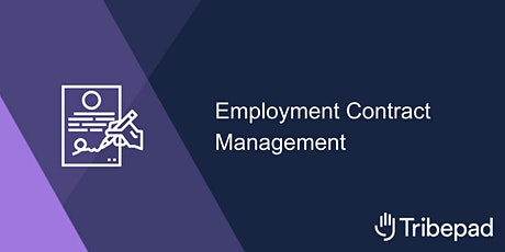Employment Contract Management tickets
