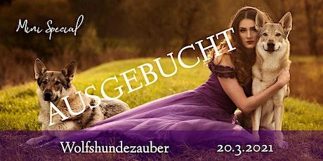 "Mini Special ""Wolfshundezauber"" tickets"