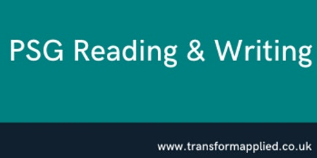 PSG Reading & Writing - Train the trainer tickets