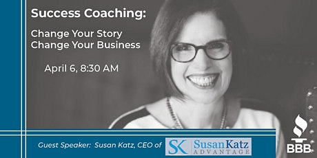 Success Coaching: Change Your Story - Change Your Business tickets