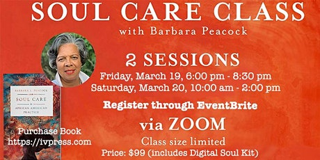 Class: Soul Care In African American Practice with Dr. Barbara Peacock tickets