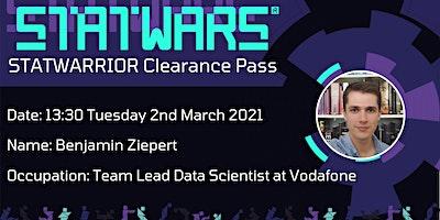 STATWARRIOR: Benjamin Ziepert, Data Scientist at Vodafone