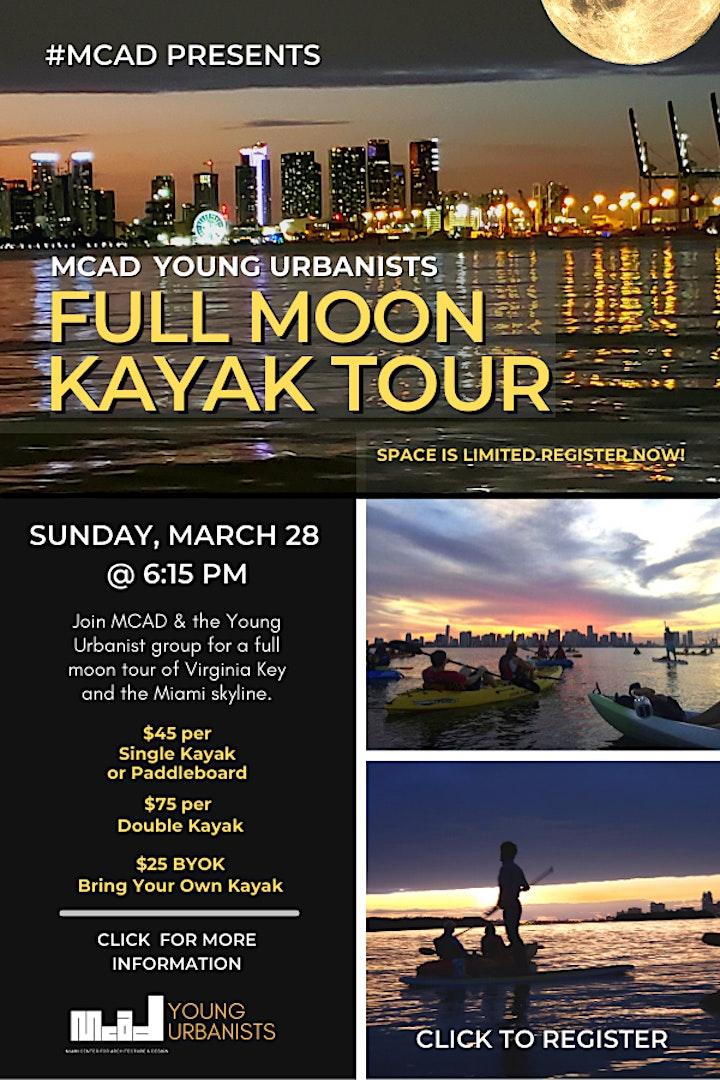 Full Moon Kayak Tour image