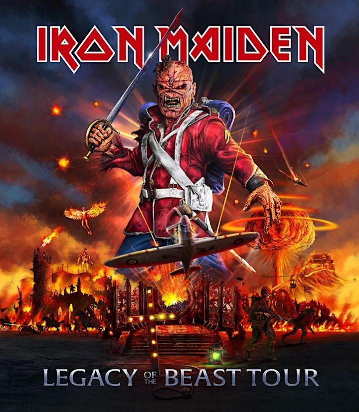 Imagen de Concierto de Iron Maiden en el Santiago Bernabeu