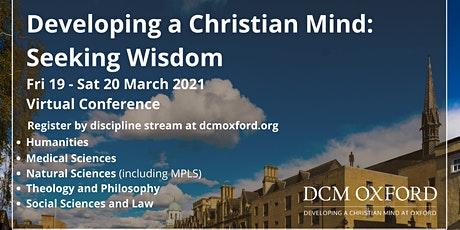 Developing a Christian Mind: Seeking Wisdom 2021 Virtual Conference tickets