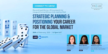 Strategic Planning and Positioning Your Career for the Global Market tickets