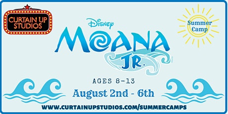 Moana JR - Summer Camp 2021 tickets