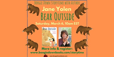 Boogie Down Storytime with Jane Yolen (March 6) tickets