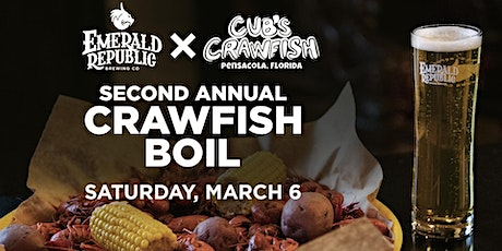 2nd Annual Crawfish Boil - Emerald Republic Brewing Company x Cubs Crawfish tickets