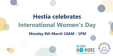 Hestia celebrates International Women's Day tickets