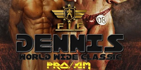 FIF DENNIS WORLDWIDE CLASSIC PRO/AM 2022 ingressos