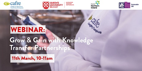 Grow & Gain with Knowledge Transfer Partnerships tickets