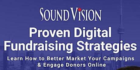 Proven Digital Fundraising Strategies tickets